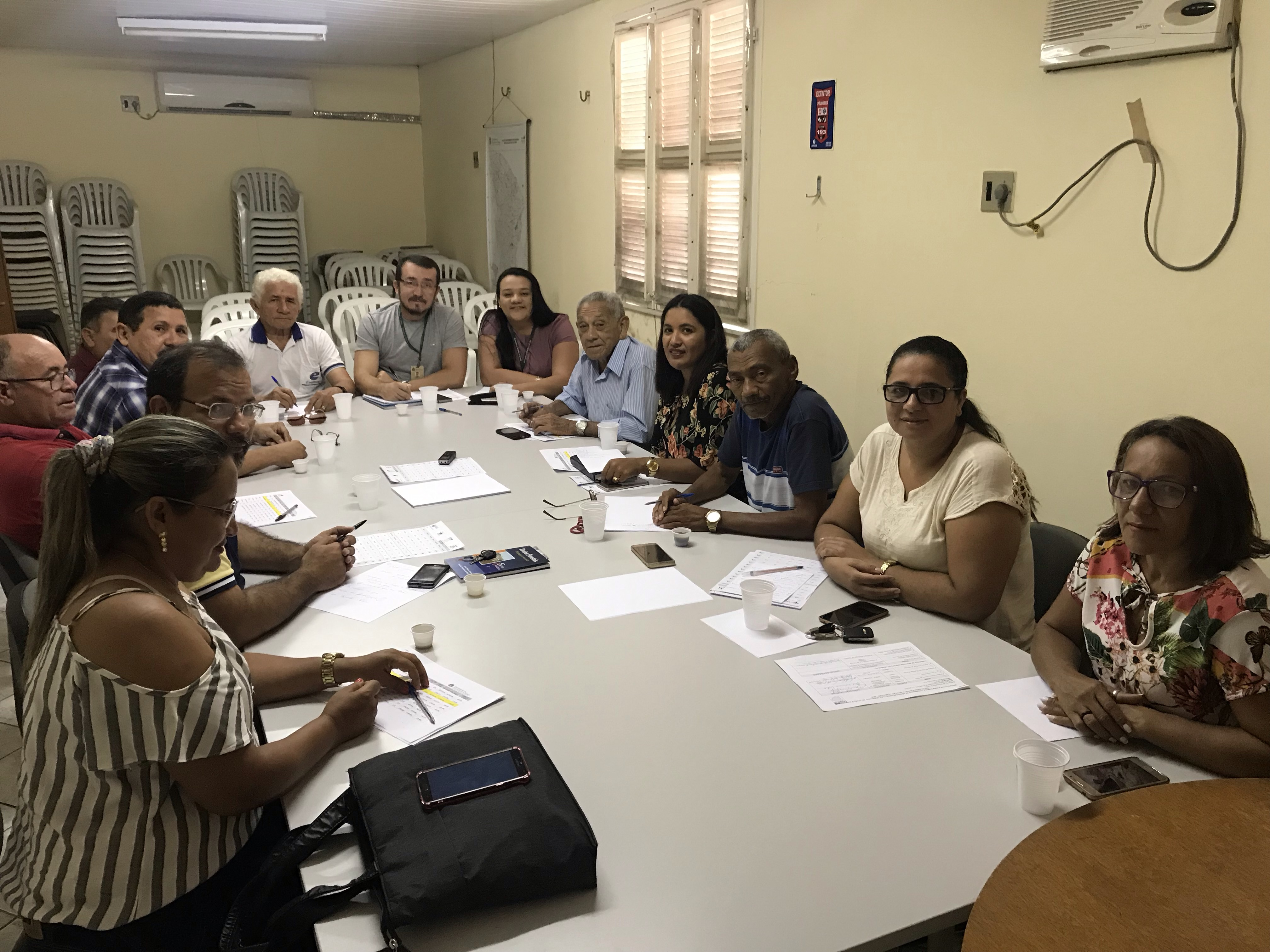 Diretoria e Comissão de Monitoramento e Acompanhamento da Operação do Comitê da Bacia Hidrográfica do Curu / CBH Curu se reúne com COGERH Pentecoste